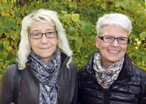 Anki Rydberg och Cathrine Pettersson