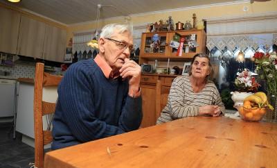 Bengt och Astrid Svensson föder upp ungefär en kull valpar per år.