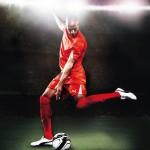 """""""Jag har alltid varit intresserad av fotboll så det var kul och hedrande att få fotografera en så bra spelare som Thierry Henry. Han var väldigt trevlig och tillmötesgående, men kanske inte så superpeppad på att bli fotograferad. Det var nog inte det bästa han visste"""""""