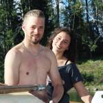 Sebastian Kamp och Chiara Dietrich från Tyskland.