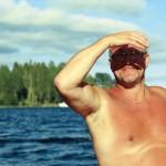 Michael Andersson åker sällan längre än till Lustholmen,  i alla fall inte på helgerna.
