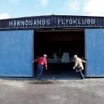 Eva och Erik Forsberg stänger hangaren för säsongen?