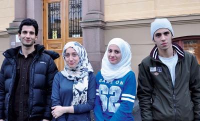 Mohammad, Mariah, Nour & Mahmoud