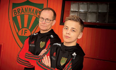 Janne Öhlén, Årets brottningsledare i Sverige tillsammans med Niclas Öhlén, nybliven svensk ungdomsmästare.