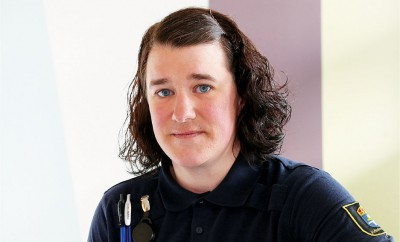 Sara Åkerblom, Kriminalvårdare