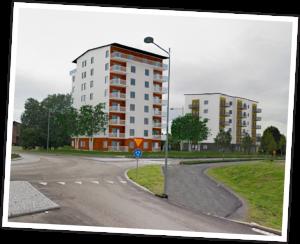 Härnösandshus vill bygga vid Järnvägsgatan