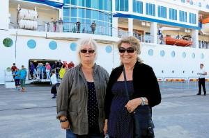 Monica Clevesjö och Annelie Gilliam