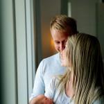 Johan Stark och Erica Wiklander har bott i sitt nya hus sedan januari, sonen Isak i tre veckor ...
