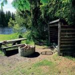 Vindskydd vid Långsjön