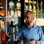 Johan Wester ansvarar för besöksverksamheten på Hernö Gin.