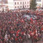 Den 5/12 har 5i12 sin årliga manifestation på torget.
