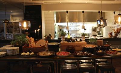 Stadt öppnade upp egen restaurang