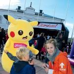 Pikachu & Yippie-Linda
