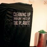 Endast miljöcertifierade och allergivänliga rengöringsmedel används.