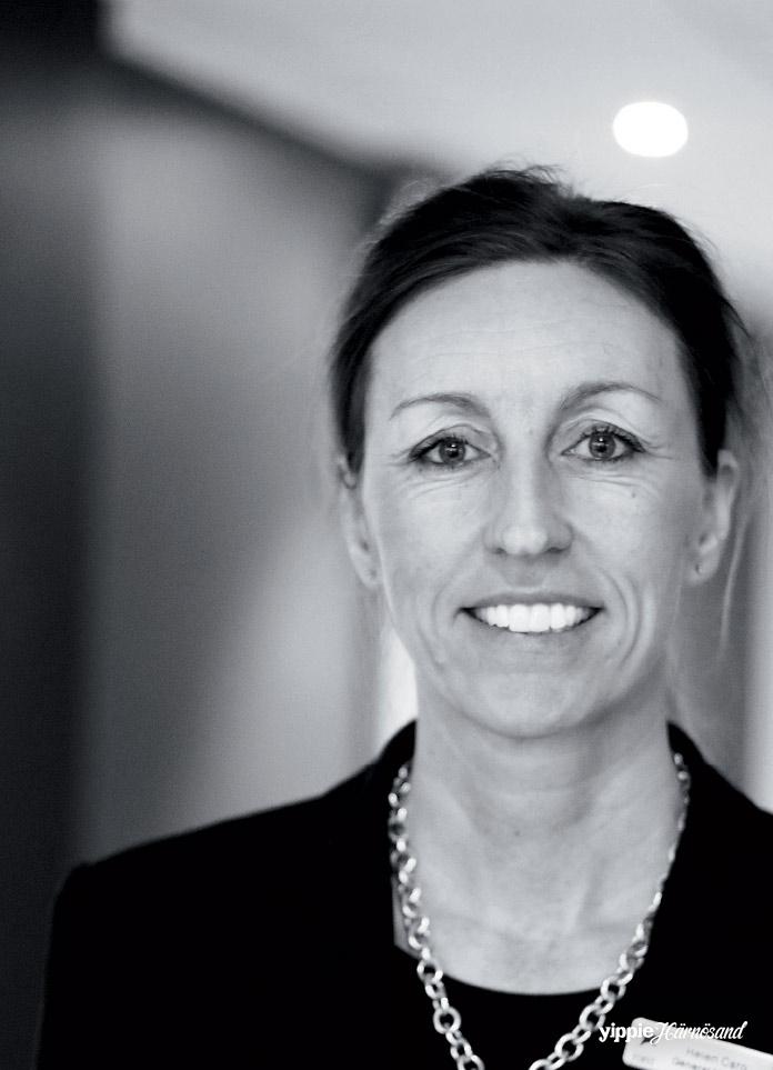 Helen Caro, hotelldirektör på First Hotel Stadt