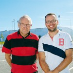 Edvin Hanneryd och Anders Svanholm.