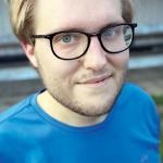Testpatrullen Joel Lindström.