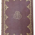Nils Qvist gav ut sina memoarer i två guld-kantade band, dock bara i 15 exemplar!