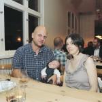 Nicolas, Nathalie och lille Clement från Frankrike.