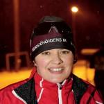 Susanne Lindehall, en av 14 ungdomstränare och själv inbiten längdåkare