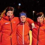 Maja Sköjd, Julia Sjödin och Elin Edström, tre taggade BIK-tjejer.