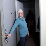 Ulla Karlsson Manhem har fått en av de 20 nya lägenheterna