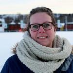 Arbetsledaren Veronika Ström Uotela