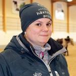 Ridinstruktören Sara Holmgren kommer ursprungligen från Lund.