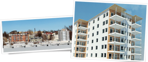 HSB:S nya bygge på Kanaludden