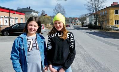 Wilma Olsson Öberg och Alva Olsson