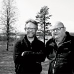 Banchefen Erik Lindgren och klubbens ordförande Håkan Östman längtar till säsongsstarten.