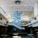 Ljushallen blir den nya skolans hjärta.