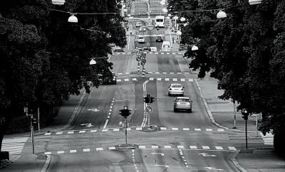 Nybrogatan i Härnösand