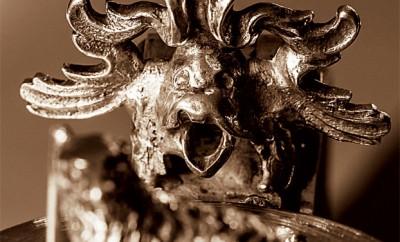 Ornament på Petrus Steuchius nattvardskalk.