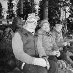 Pensionärerna Olle Grundberg samt Göran och Lena Abel åker ibland flera gånger i veckan. Det är de som har rekat Öjesjön inför dagens tur.