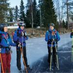 Lena och Jan Hamrén,  Clas Tjäder och Lena Abel.