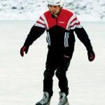 Mostafa Al-Budairi hade efter tre tillfällen på isen blivit en riktig fena på grillorna.