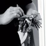 Många nycklar till många rum.