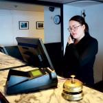 Jossan började i receptionen 2011 och har alltid vetat att det är på hotell hon vill jobba.