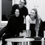 Phoebe Dinga, Bartlomiej Szulc,  Åsa Jönsson.