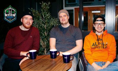 Robert Gavelin, Jacob Thilén och Stefan Johansson Cupic är VD respektive vice VD och spelare.