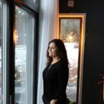 Utsikten från sovrummet är mäktig och Harriet Wikström påminns varje morgon om vilken lyckträff tomtköpet vid havet blev.