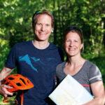 Erik och Anna Kempe på Hemsö Kajak & MTB satsar på cykel- och friluftsturism.