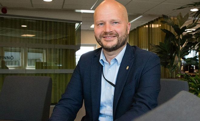 Johan Modin är ny regionchef.