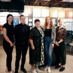 Frida Högstedt, Joacim Hägglund, Cilla Johansson, Vera Englund och Anna Totland Grip ingår i laguppställningen hos nystartade Synsam på Trädgårdsgatan.