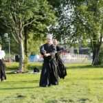 Aikido är bland annat utvecklat ur svärdkonst.