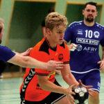 Elias Edmo, 18, en lovande niometers- spelare i årets Brännan.