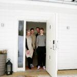 Familjen Salander Jansson: Susanne, Daniel, Lukas och Felix.